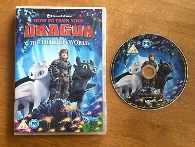 How to Train your Dragon The Hidden World DVD New Watched Once