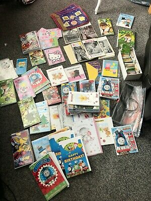 Job lot wholesale bundle greetings cards with envelopes + card stand ? carboot