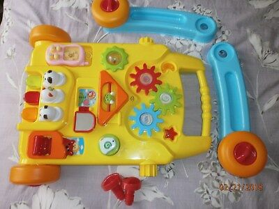 Baby walker baby's first novelty toy activity centre wheels musical detachable