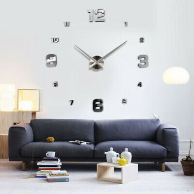Hot Large Wall Clock Quartz Movement Mechanism Repair Set DIY Hands Parts Tool ~