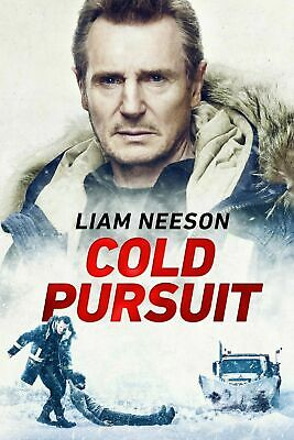 Cold Pursuit (DVD 2019) Brand New!