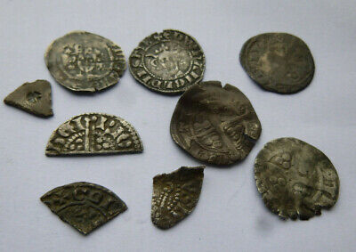 Metal Detecting Finds Hammered Silver Coins