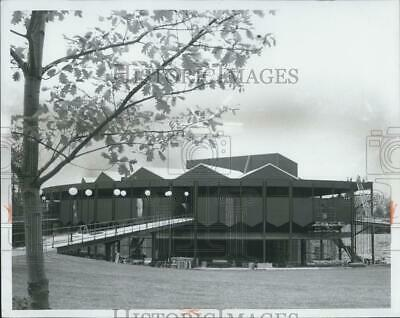 1966 Press Photo of Saratoga Performing Arts Center in Saratoga Springs NY