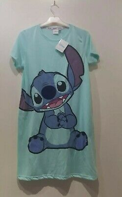 Disney Stitch Long Top For  Girls From Primark