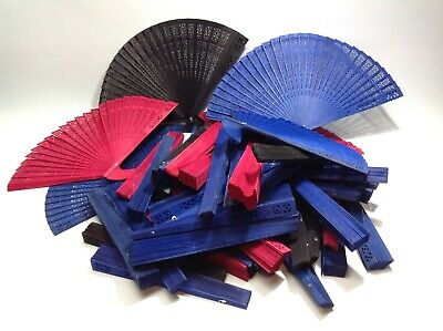 Large Lot of Folding Fans