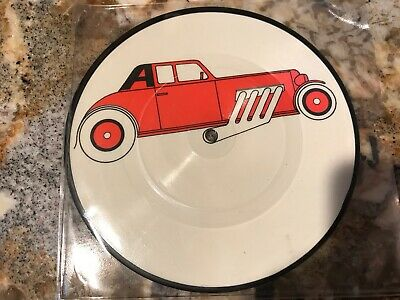 """THE CARS """"My Best Friend's Girl / Moving In Stereo"""" PICTURE DISC  UK 45 COMBINE"""