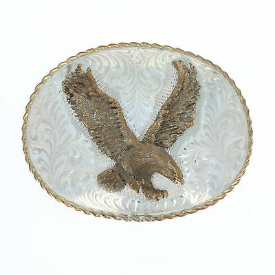 Boyd American Eagle Limited Edition No. 5 Belt Buckle Sterling Bronze Reno, Nev
