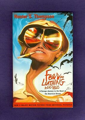 Hunter Thompson FEAR and LOATHING in LAS VEGAS Ralph Steadman Johnny Depp MOVIE