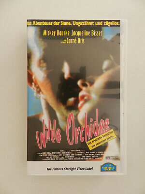 VHS Video Kassette Wilde Orchidee Mickey Rourke Carre Otis