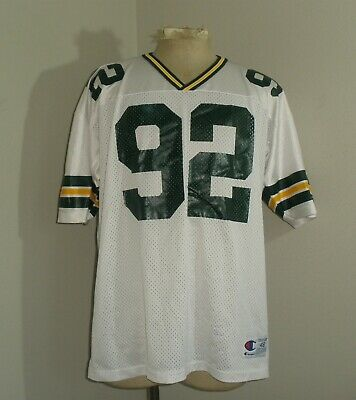 e9f1d88e GREEN BAY PACKERS Vintage Champion Starter Nylon Reggie White 92 ...