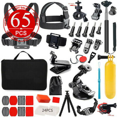 Accessories Pack Case Head Chest Monopod Bike Surf Mount for GoPro Hero 7 6 5