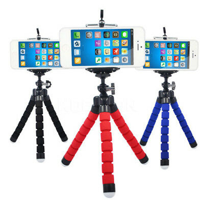 CO_ ALS_ Universal Flexible Stand Mount Octopus Tripod Bracket Holder for Phone