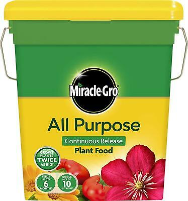 Miracle-Gro Continuous Release All Purpose Food 2 Kg Tub IDEAL FOR ALL PLANTS