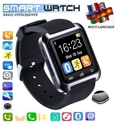 U80 Smart Wrist Watch Waterproof Bluetooth Phone Mate For Android For IOS TOP