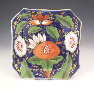 Antique English Porcelain - Hand Painted Flower Decorated Bowl- Lovely!