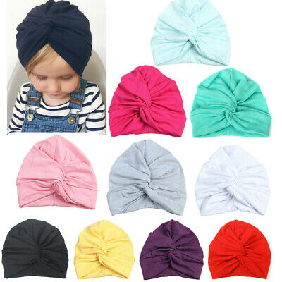 Infant Toddler Baby Cotton India Hats Boy Girl Solid India Hats Lovely Soft Hats