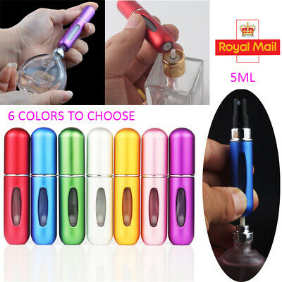 6Xperfume Atomiser Refillable Aftershave Atomizer Travel Bottle Mini Pump Spray