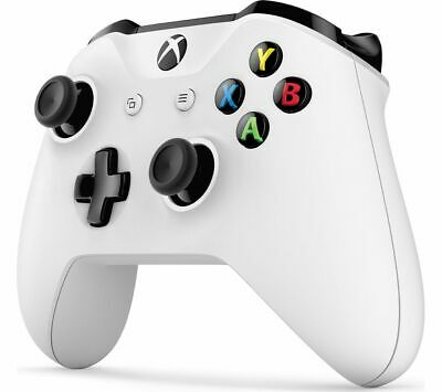 Official Microsoft Xbox One Wireless Controller - Bluetooth & 3.5mm Jack - White