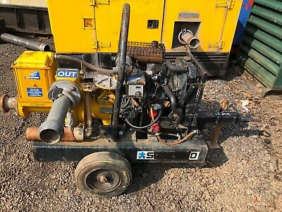 SELWOOD D80 3 Inch Diesel Water Pump On Wheels  Vat Will Be Added