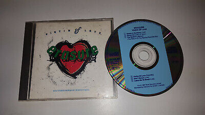 * Music Cd Single * Erasure - Victim Of Love *  6 Track Live