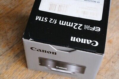 Canon EFM 22mm 1:2 STM  Lens Ex Demo