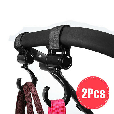 2 Pack of Multi Purpose Hooks Hanger for Baby Diaper Bags Purse Great Accessory