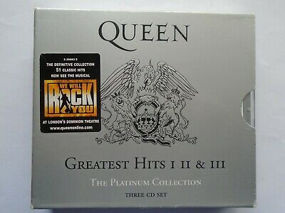 Queen - The  Platinum Collection (3 CD Set)