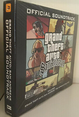 GRAND THEFT AUTO San Andreas Official Soundtrack Box Set