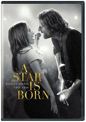 Star Is Born DVD 2018 Bradley Cooper Lady Gaga NEW SEALED Free Shipping