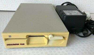 """Excelerator Plus Commodore 1541 Clone 5.25"""" Floppy Disk Drive + Power Supply"""