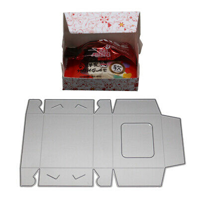 Candy Gift Box Metal Cutting Dies Scrapbooking Embossing Cards Punch Stencil C