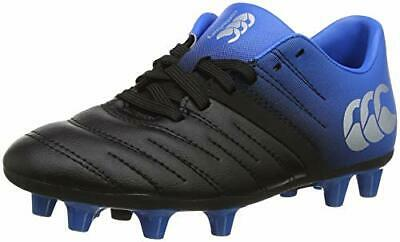 Canterbury Phoenix 2.0 Firm Ground, Zapatillas de (32 EU|Negro (Phantom 733))
