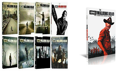 The Walking Dead: Complete Seasons 1-9  (41 Disc Bundled Dvd Set) Ships Free New