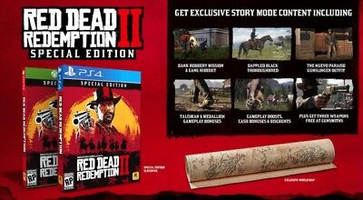 Red Dead Redemption 2 - Xbox One S/X Special Edition - BRAND NEW SEALED