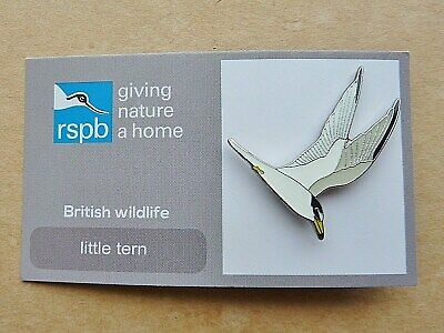 Rspb  Pin  Badge Little Tern On Giving Nature A Home British Wildlife