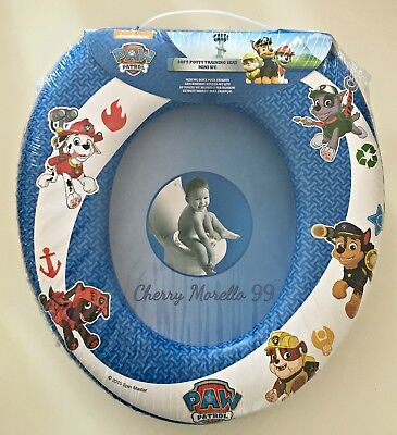 Bn Soft Padded Blue Paw Patrol Childrens Toddlers Potty Training Toilet Seat