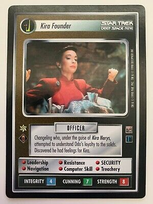 Star Trek CCG 2E Captain/'s Log Kira Nerys Blockade Commander 10U54