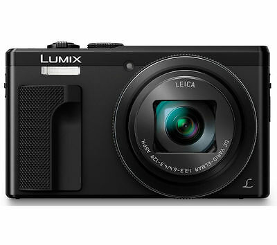 Panasonic DMC-TZ80EB-K Digital Camera 18.1 MP 30x Optical Zoom 4K Record Black