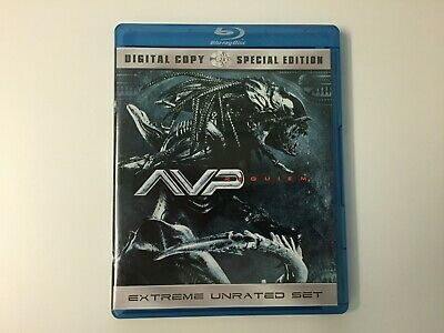 Alien vs. Predator Requiem Blu-Ray MINT AVP Awesome Sci-Fi Horror Sequel Unrated