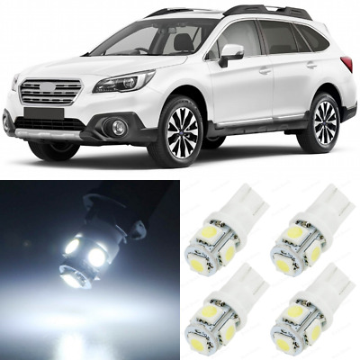 FITS 2015-2019 SUBARU Outback Full White Interior LED Lights