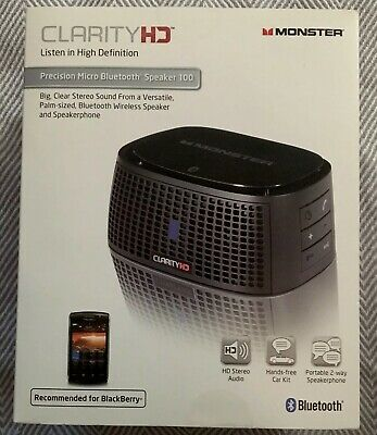 583c788558a MONSTER CLARITY HD Precision Bluetooth Speaker, Voice Control (BRAND ...