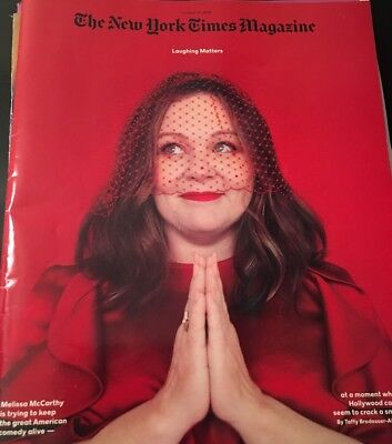 THE NEW YORK TIMES MAGAZINE October 21 2018 Melissa McCarthy NEW; Top NY Lawyers