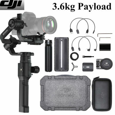 DJI RONIN-S Superior 3-Axis Handheld Gimbal Stabilizer for Camera DSLR T6