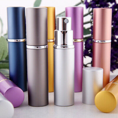 5ml Mini Portable Travel Refillable Perfume Atomizer Pump Spray Bottle Empty Kit