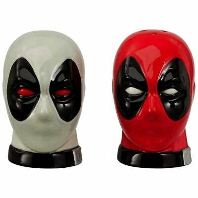 Marvel Deadpool Salt and Pepper Shakers Set Pots Cruet Set - Boxed