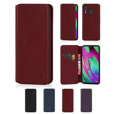 32nd Classic Series 2.0 - Real Leather Book Wallet Case Samsung Galaxy A40 2019