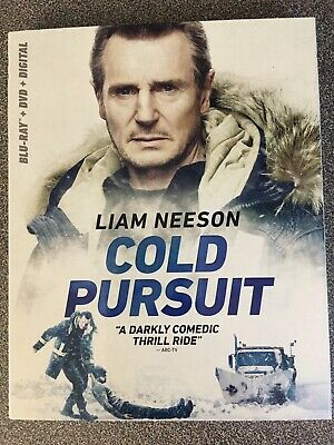 Cold Pursuit (Blu Ray + DVD + Digital) 2019 w/SLIP COVER ***FREE SHIPPING***