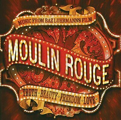 MOULIN ROUGE Music From Baz Luhrmann's Film (2001) 16-track CD album NEW/SEALED