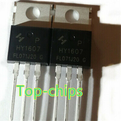 5PC HY1607 In-line TO-220 electric vehicle controller FET 80V170A