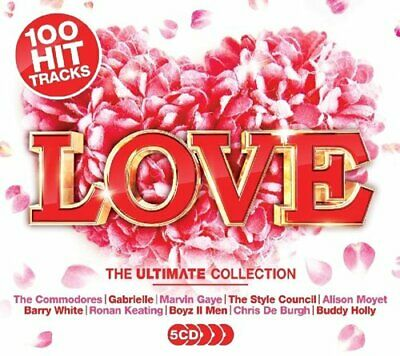 LOVE THE ULTIMATE COLLECTION (2018) 100-track 5-CD set NEW/SEALED Marvin Gaye